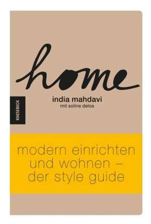 HOME de India Mahdavi