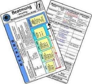 Beatmung - Abkuerzungen & Normwerte - Med. Taschen-Karte