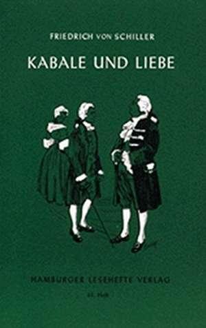 Kabale und Liebe de Friedrich von Schiller