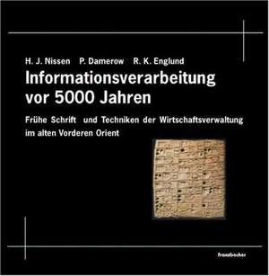5000 Jahre Informationsverarbeitung de Hans J. Nissen