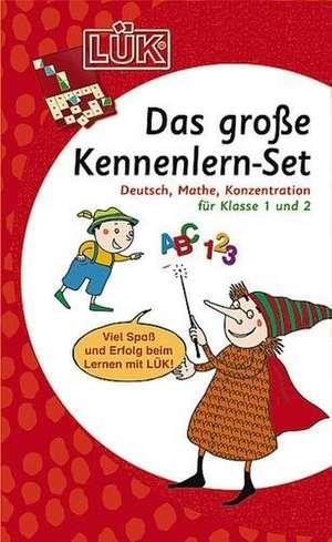 Das grosse LUEK-Set fuer Einsteiger: Deutsch, Mathe, Konzentration fuer Klasse 1 und 2