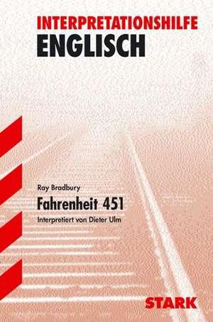 Interpretationshilfe Deutsch. Fahrenheit 451