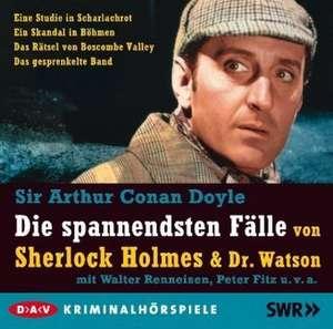 Die spannendsten Faelle von Sherlock Holmes & Dr. Watson