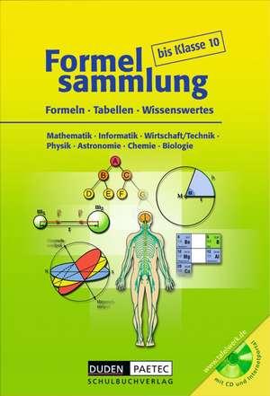 Formelsammlung bis Klasse 10 mit CD-ROM