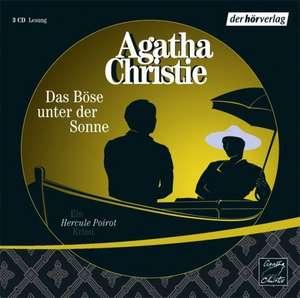 Das Böse unter der Sonne. 3 CDs de Agatha Christie