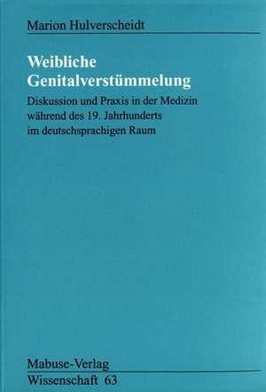 Weibliche Genitalverstuemmelung