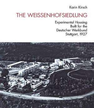 The Weissenhofsiedlung