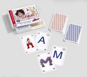 Kartenspiel Alphas - Laute - Buchstaben