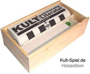 Kult-Spiel deutschsprachige Literatur - 400 Fragen zu Kultautoren, Kultbuechern, Kultgeschichten