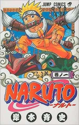 Naruto V01 de Masashi Kishimoto