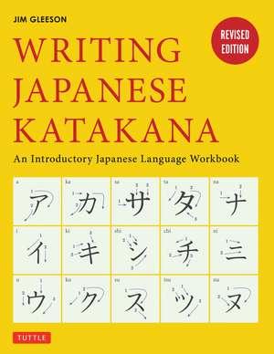 Writing Japanese Katakana imagine