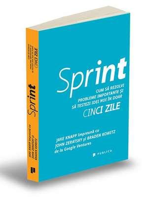 Sprint: Cum să rezolvi probleme importante și să testezi idei noi în doar cinci zile de Jake Knapp