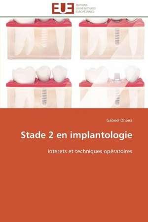 Stade 2 En Implantologie