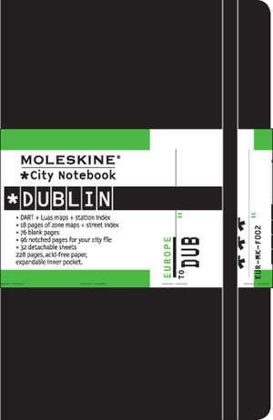 City Notebook Dublin de  Moleskine