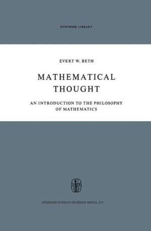 Mathematical Thought: An Introduction to the Philosophy of Mathematics de Horace Glover