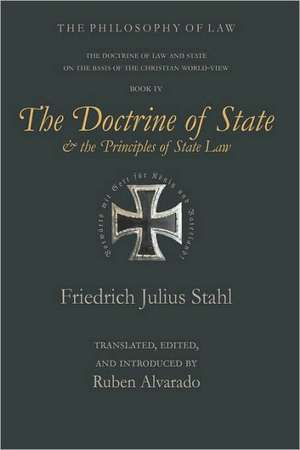 The Doctrine Of State And The Principles Of State