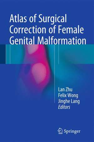 Atlas of Surgical Correction of Female Genital Malformation imagine