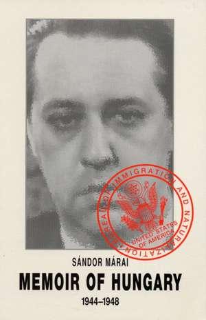 Memoir of Hungary