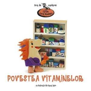 Povestea vitaminelor de Lucia Muntean