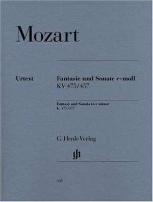 Fantasie und Sonate c-moll KV 475/457 de Wolfgang Amadeus Mozart