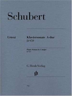 Klaviersonate A-dur D 959 de Franz Schubert