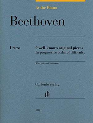 At the Piano - Beethoven de Ludwig van Beethoven