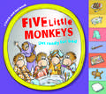 Five Little Monkeys Get Ready for Bed (touch-and-feel tabbed board book)
