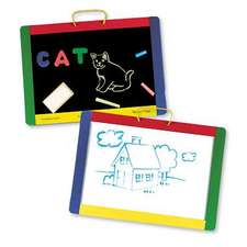 Magnetic Chalkboard/Dry-Erase Board