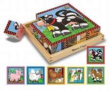 Farm Cube Wooden Puzzle