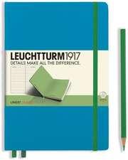 Agendă nedatată Leuchtturm medie cartonată (A5): Hardcover