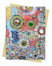 Gaudi (inspired by): Mosaic Greeting Card
