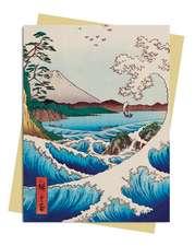Hiroshige: Sea at Satta Greeting Card