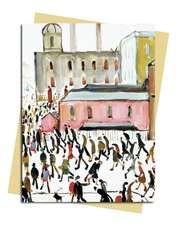 L.S. Lowry: Going to Work Greeting Card: Pack of 6