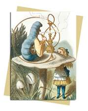 John Tenniel: Alice & the Caterpillar Greeting Card: Pack of 6