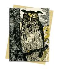 Grimm's Fairy Tales: Winking Owl Greeting Card