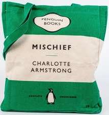 Penguin Tote: Mischief (Green)