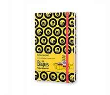Moleskine The Beatles Large Ruled Limited Edition Notebook: Yellow Submarine