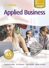 Surridge, M: Applied Business for as Level for AQA