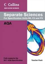 Separate Sciences for Specification Units B3, C3 and P3 [With CDROM]