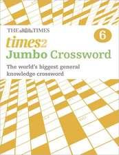 The Times 2 Jumbo Crossword Book 6