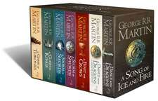A Game of Throne The Story Continues 7 Volumes Boxed Set: A Song of Ice and Fire