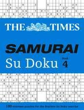 The Times Samurai Su Doku Book 4:  Book C