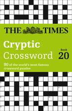 The Times Cryptic Crossword Book 20