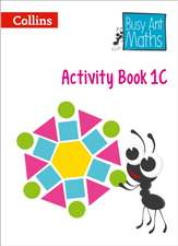 Busy Ant Maths European Edition - Activity Book 1c:  An Authoritative Guide to English Usage