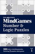 The Times MindGames Number and Logic Puzzles Book 1