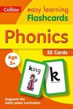 Phonics Flashcards: 52 Cards