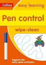 Pen Control Wipe-Clean Activity Book