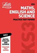 KS3 Maths, English and Science Practice Test Papers