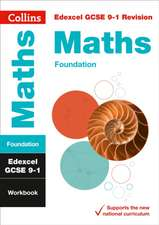Edexcel GCSE 9-1 Maths Foundation Workbook