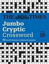 Times Jumbo Cryptic Crossword Book 18